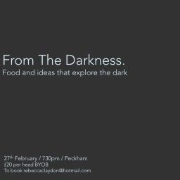 "Introducing ""From The Darkness"""